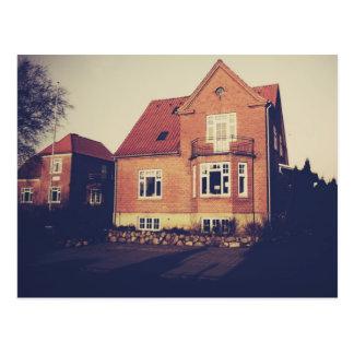 Ein Haus in Hillerod, Kopenhagen Postkarte