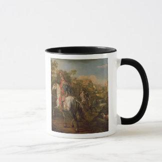 Ein Hussar zu Pferd, 1773 Tasse