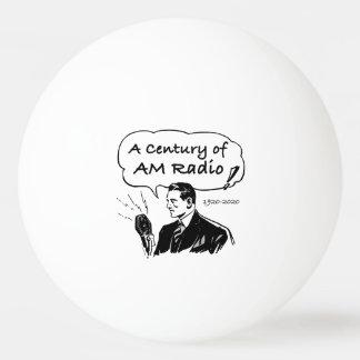 Ein Jahrhundert von morgens-Radio Ping-Pong Ball