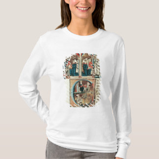 Ein jüdisches Gelehrtdarstellen T-Shirt