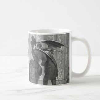 Ein Kussviktorianischer/gotischer Winged Vampire Kaffeetasse