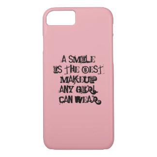 Ein Lächeln ist das beste Make-up, das jedes iPhone 8/7 Hülle