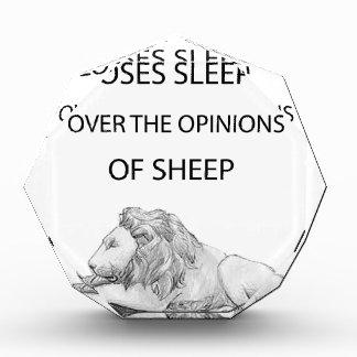 Ein Löwe nie Auszeichnung