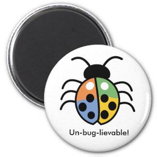 Ein lustiger Magnet für Kinder Runder Magnet 5,1 Cm