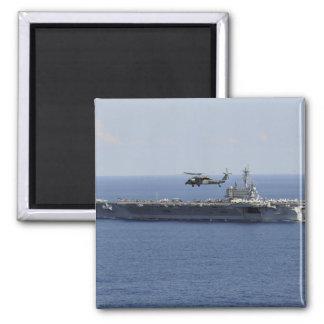Ein MH-60S Seahawk Hubschrauber Quadratischer Magnet