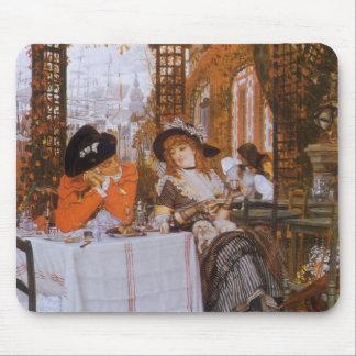 Ein Mittagessen (Le Dejeuner) durch James Tissot Mousepads