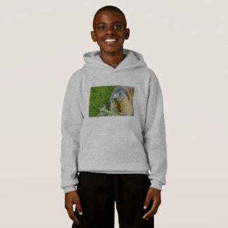 ein Murmeltier auf das Hanes der Kinder Komfort Hoodie