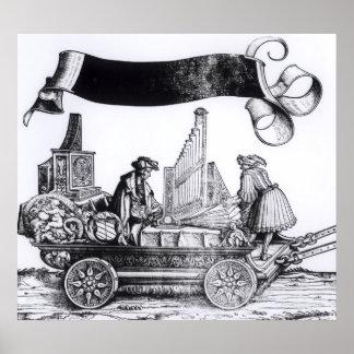 Ein musikalischer Wagen Poster
