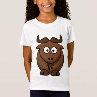 ein niedlicher Wildebeest oder ein Gnu T-Shirt