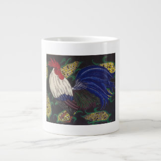 Ein schöner Hahn Jumbo-Tassen
