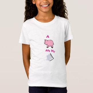 Ein Schwein aß meine Hausaufgaben, der Bella der T-Shirt