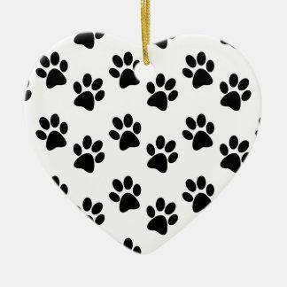Ein sheepadoodle hält mein Herz Keramik Ornament