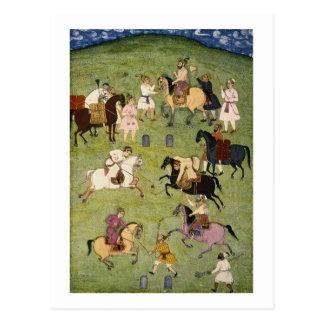 Ein Spiel von Polo, vom großen Clive Album Postkarte