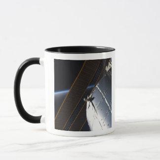 Ein Teil der internationalen Weltraumstation Tasse