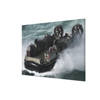 Ein US-Marine-Landungsboot-Luftpolster Gespannter Galerie Druck