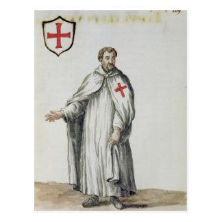 Ein venezianisches Templar Postkarte