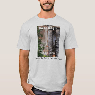 "Ein Verfasser-"" T - Shirt Simons Langs ""denken Sie"