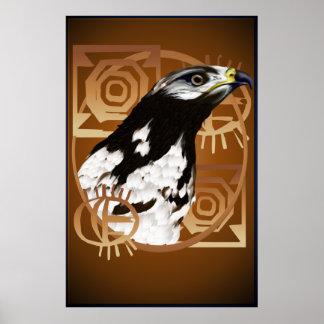 Ein Vogel des Serengeti großen Plakats Poster