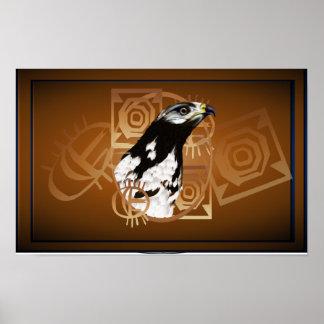Ein Vogel des Serengeti Plakats weit Poster