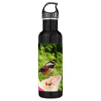 Ein Vogel in der Hand Trinkflasche