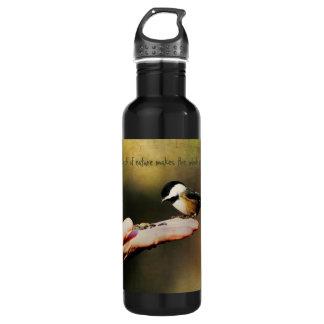 Ein Vogel in der Hand Trinkflaschen