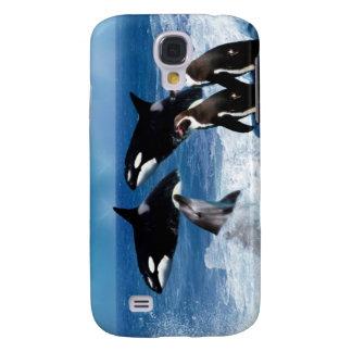 Ein Wal einer Welt Galaxy S4 Hülle