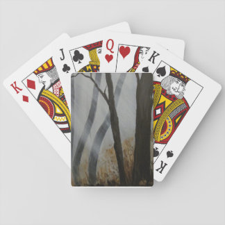 Ein Wald Spielkarte