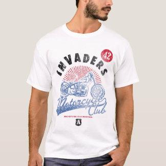 Eindringlings-Motorrad-Verein-Shirt T-Shirt