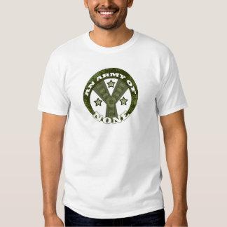 Eine Armee von keinen T-Shirt