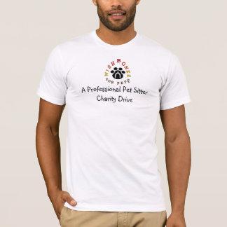 Eine berufliche Haustiersitter-Wohltätigkeit T-Shirt