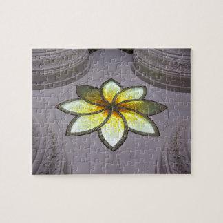 Eine Blume des Lebens in der Moschee Scheichs Puzzle