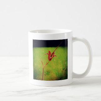 Eine Blume Tasse