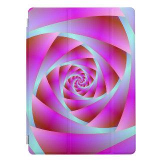 Eine Drehung des Blaus und des Rosas iPad Pro Hülle