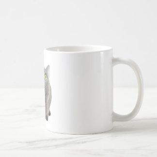 eine Katze Tasse