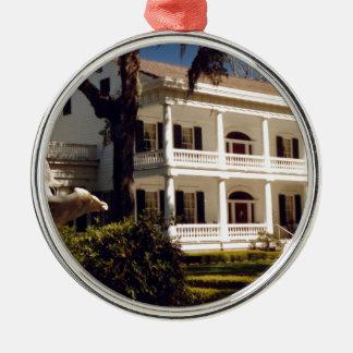 Eine Louisiana-Plantage Silbernes Ornament