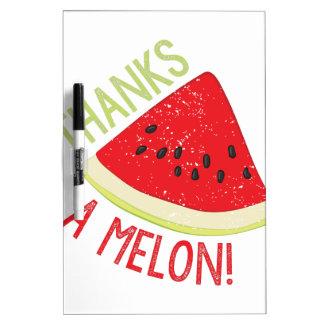 Eine Melone Memoboard