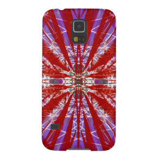eine moderne gefärbte Krawatte Galaxy S5 Hülle