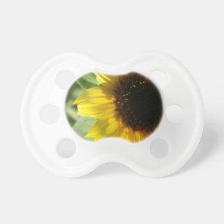 Eine Sonnenblume Baby Schnuller
