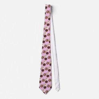 """Eine Spaß-Krapfen-Krawatte für den """"Kaffee und"""" Personalisierte Krawatte"""