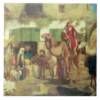 Eine Straße in Jerusalem, 1867 Keramikfliese