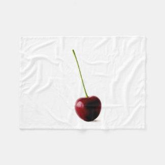 Eine süße KirschFleece-Decke Fleecedecke