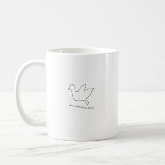 Eine ungeschickte Tauben-Tasse Tasse