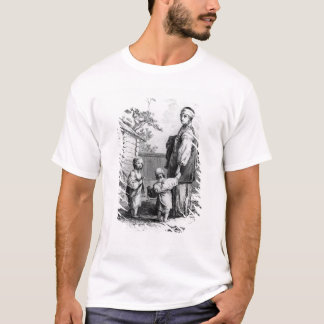Eine verheiratete jüdische Frau und ihre Kinder T-Shirt