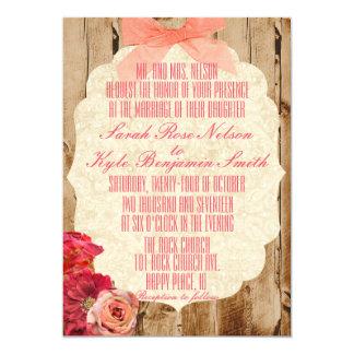 Eine wahre Liebe-Geschichten-Hochzeits-Einladung 12,7 X 17,8 Cm Einladungskarte