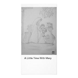 Eine wenig Zeit mit Mary Bilderkarten