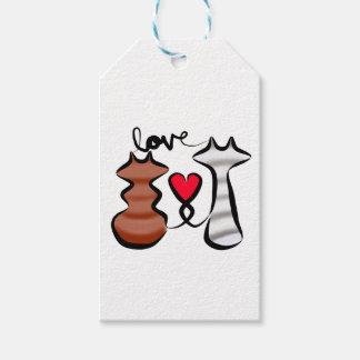 Eine Zwischenlagen-Liebe Geschenkanhänger