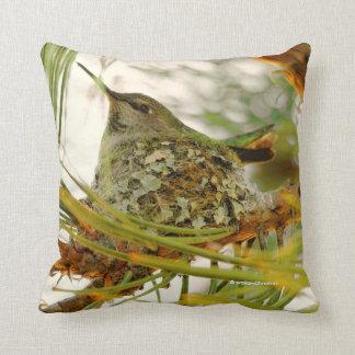 Einer Annas Kolibri Mutter-zu-Ist Kissen