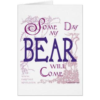 Eines Tages kommt mein Bär Karte