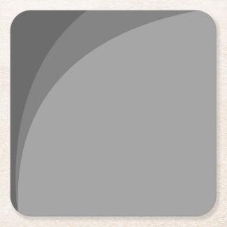 Einfach aber elegant rechteckiger pappuntersetzer
