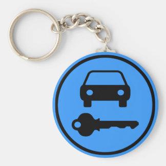 Einfach, Ersatzauto-Schlüssel mit Ikonen zu finden Schlüsselanhänger